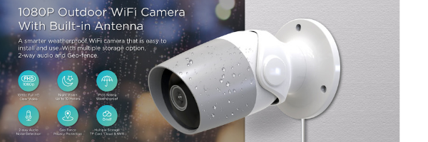 Smart & Wireless Cameras