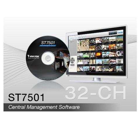 Vivotek ST7501 FREE 32ch SOFTWARE