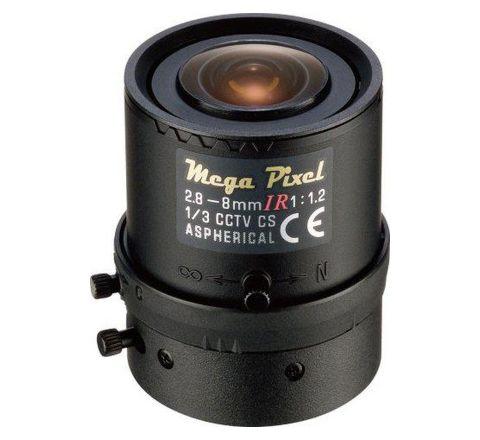 """Lens Tamron M13VG288IR (1/3"""" 2,8-8mm F/1,2 DC Iris IR corrected)"""