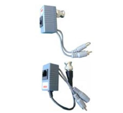 1 Channel passive video balun (With Audio) [Sold as PAIR] 3255