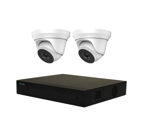 2 Camera HiLook by Hikvision Kit: DVR, 2 x 5MP Domes [3779]