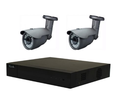 2 Camera HiLook Sony COMBO: DVR & 2 x Sony Starvis 2.8-12mm Camera Offer [3790]