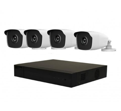 4 Camera HiLook by Hikvision COMBO: DVR & 4 x Bullet Camera Offer [3786]