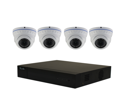 4 Camera Combo Kit: DVR & x4 Domes 5MP 3.6mm [2-3057]