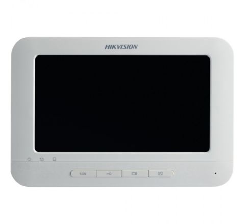Hikvision DS-KH6310-W Video Intercom Indoor Station with 7-inch Touch Screen [3733]