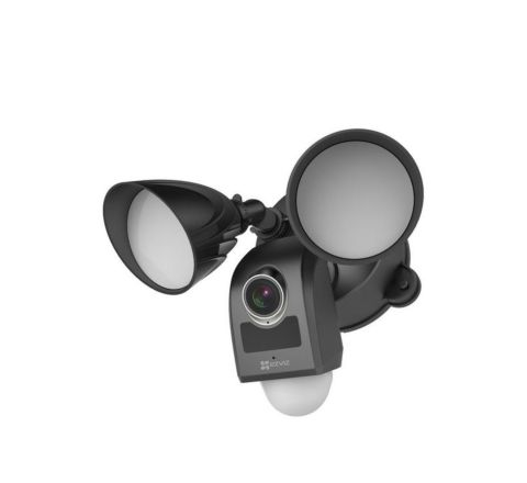 EZVIZ LC1 2MP Black Outdoor Security Flood Light Camera [1-3017]
