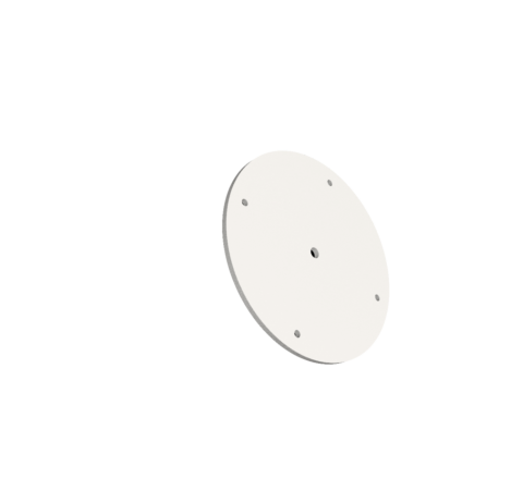 Hikvision DS-2909ZJ Bullet Tripod Adapter Bracket [3137-2]