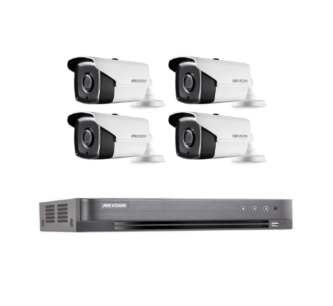 Hikvision POC Kit: DVR & 4 x 3.6mm Cameras [2-3060]