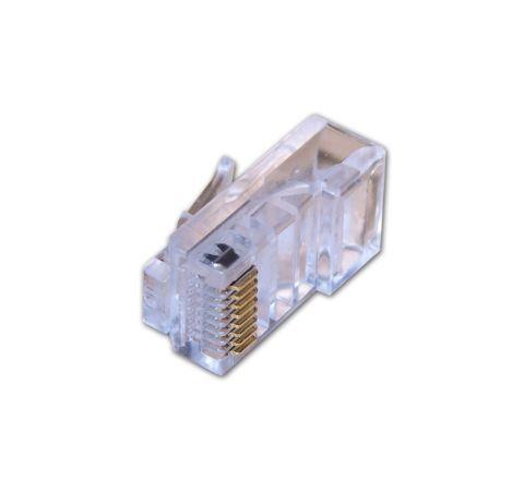 Rapid Fit RJ45 Plugs For CAT6 -Pack of 10pcs [3648]