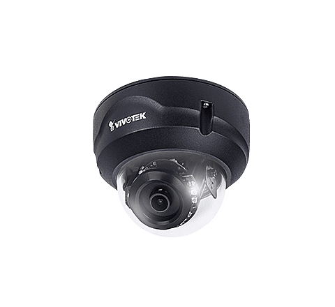 Vivotek FD8369A-V (Black) 2MP Outdoor Dome 2.8mm
