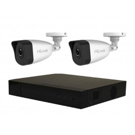 2 Camera IP HiLook by Hikvision Combo: NVR, 2 x 4MP Bullet Cameras [3791]