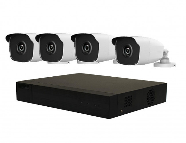 4 Camera HiLook by Hikvision IP COMBO Kit: NVR, 4 x HiLook 4MP