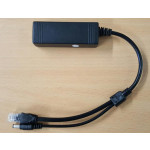 Black POE Splitter IP3250