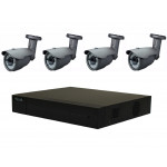 4 Camera HiLook Sony COMBO: DVR & 4 x Sony Starvis 2.8-12mm Camera Offer [3789]