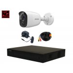 *Alarm Special* - x1 Hikvision 5MP Alarm Camera, x1 HiLook 4ch DVR, Cable & PSU