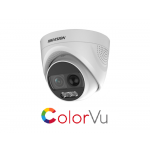 DS-2CE72DFT-PIRXOF Hikvision 2.8mm 2MP ColorVu PIR Siren Fixed Turret Camera [3984]