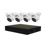 4 Camera Hikvision Hilook HD COMBO: DVR & 4 x Dome-3705 Camera Offer [3971]