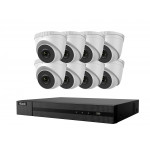 16ch POE NVR and 8 IP POE Camera Kit HiLook by Hikvision
