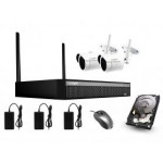 NVR Wireless 4MP 2CH WIFI Kit [3611]