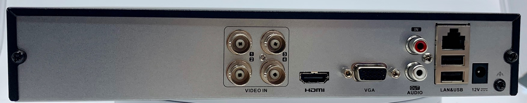 HiLook by Hikvision DVR-204Q-K1 4CH H265+ Turbo HD DVR [HL