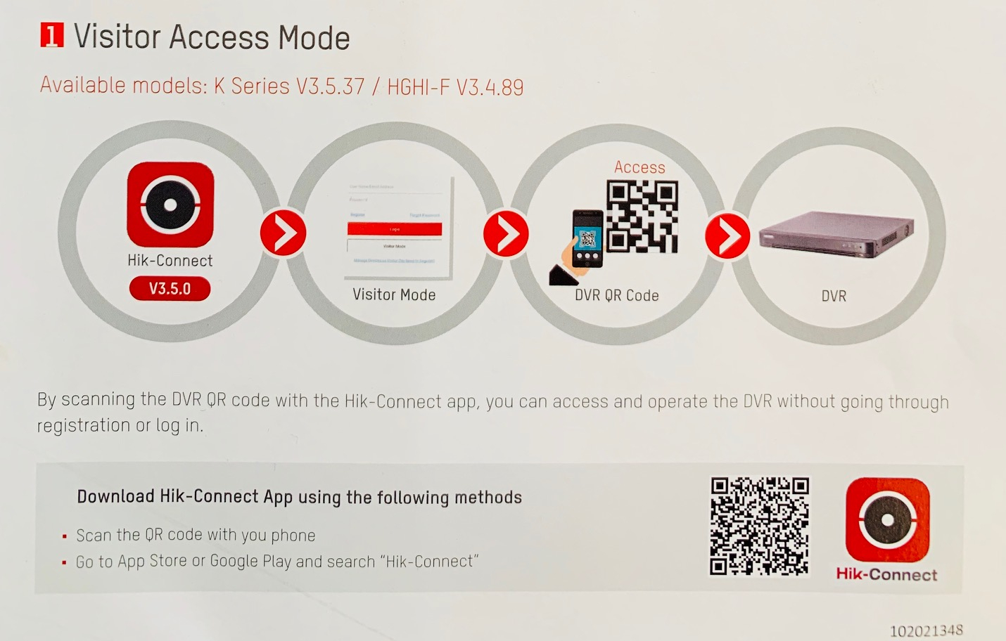 HOW TO - Visitor Access Mode [K Series Recorders]